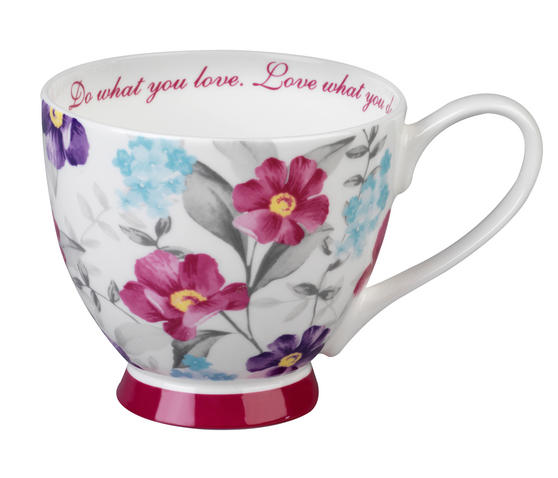 Portobello Sandringham Love What You Do Bone China Mug