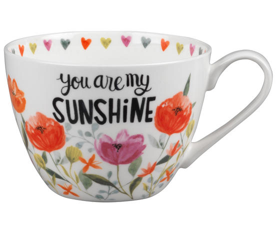 Portobello CM05064 Wilmslow You Are My Sunshine Bone China Mug