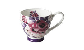 Portobello Footed Aurora White Fine Bone China Mug Thumbnail 1