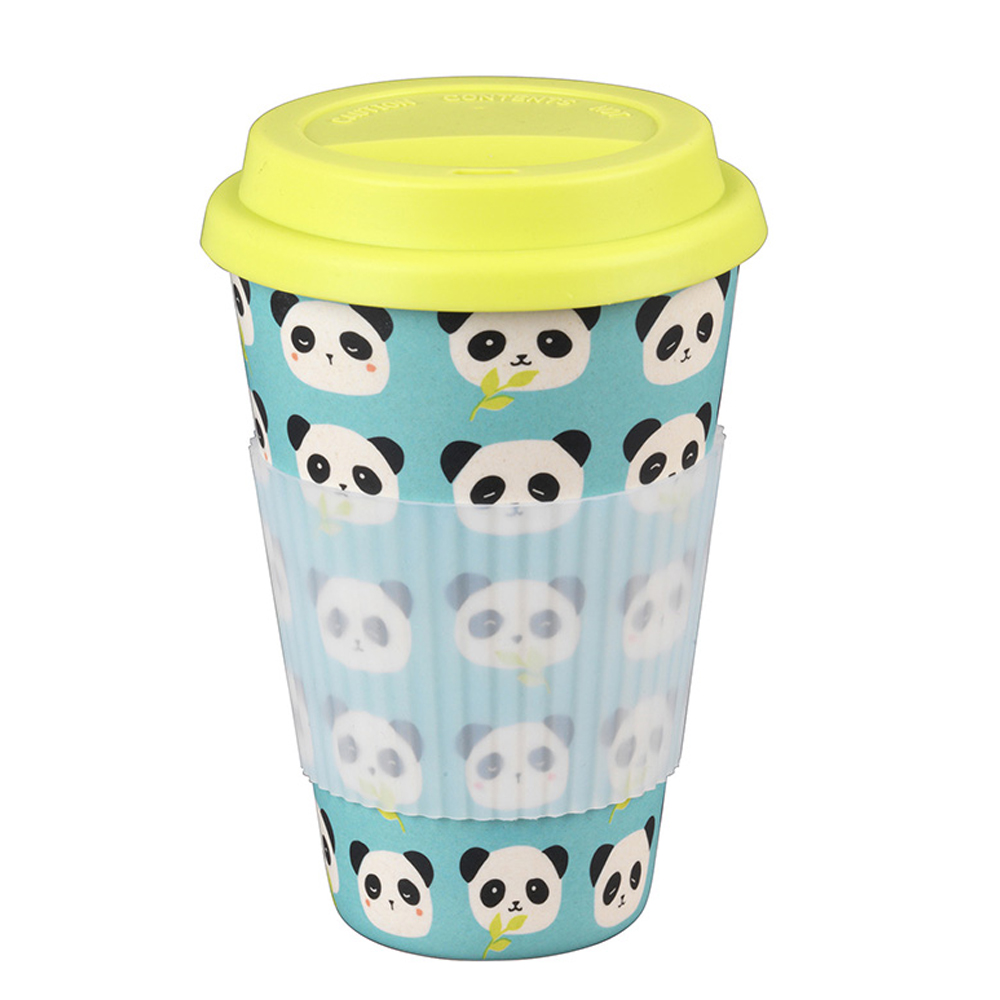 Cambridge CM046791 Bamboo Panda Travel Mug Cups And Mugs