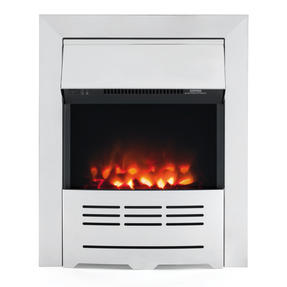 Beldray EH1910 Seville Premium Chrome Effect Inset or Free Standing Electric Fire
