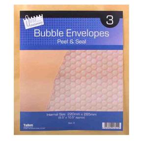 Tallon 4221 Bubble Lined Envelopes Peel and Seal Manilla Size E