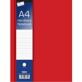Just Stationery 6701 A5 Ruled Hardback Book