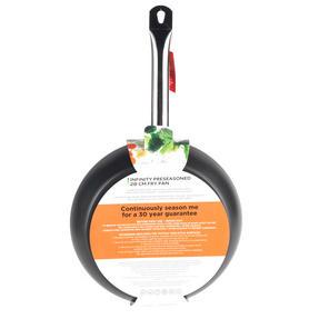 Russell Hobbs BW05467BS Infinity Preseasoned Carbon Steel Frying Pan, 28 cm, Black Thumbnail 8