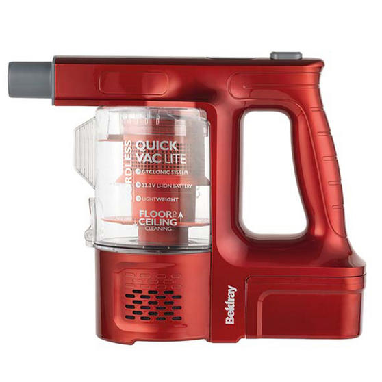 Beldray 22.2 V Cordless Quick Vac Lite, Red Thumbnail 2