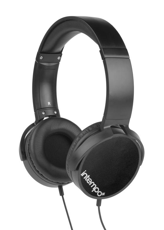 Intempo EE1264 Dynamic Black Over-ear Headphones