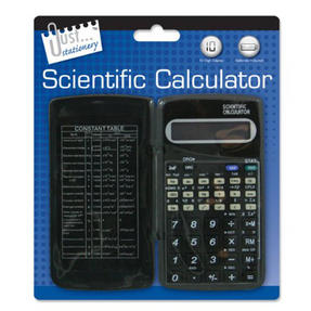 Just Stationery 6179/48 Scientific Calculator with Folding Cover Thumbnail 1