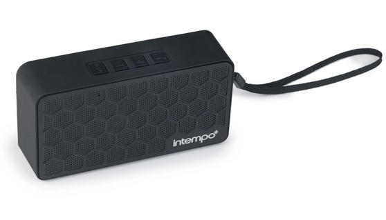Intempo Checkered Mini Bluetooth Speaker