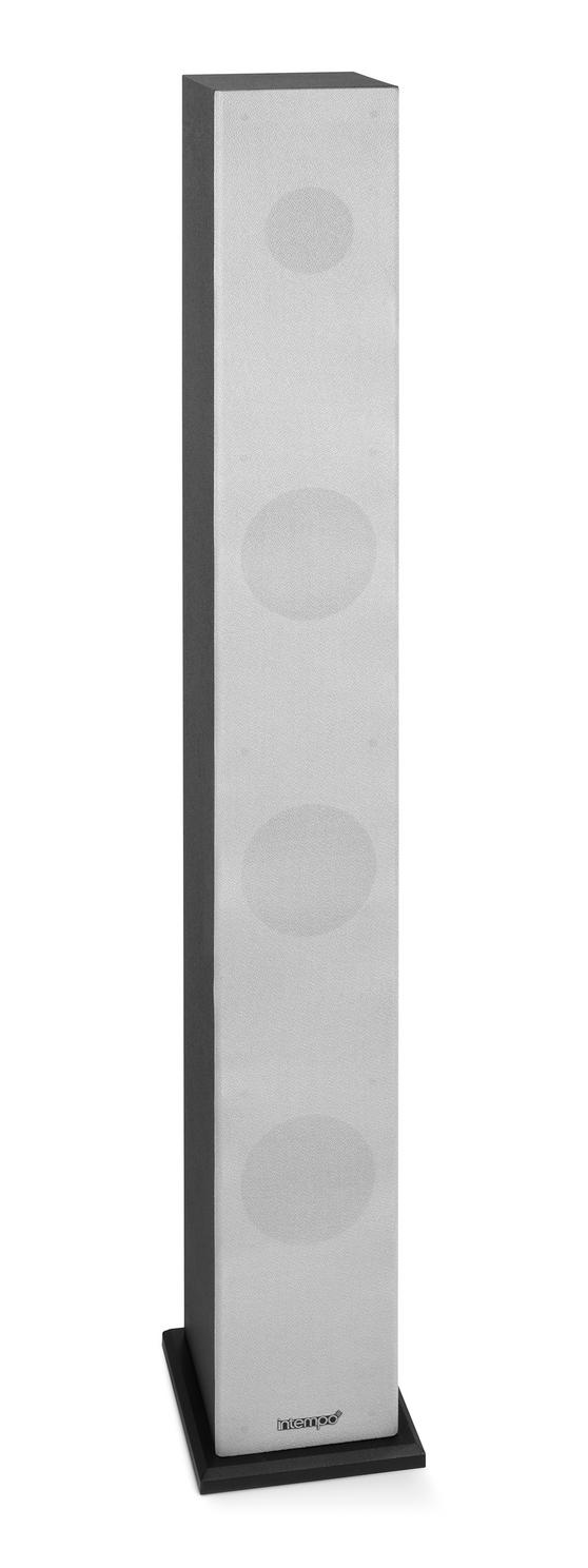 Intempo EE1002 Black and Grey Bluetooth Tower Speaker
