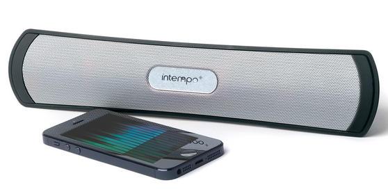 Intempo EE1145BLK Black Mini Bursnell Bluetooth Speaker
