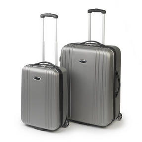 "Constellation LG00350LGRY 27"" Grey Cordoba ABS Suitcase Luggage Case"