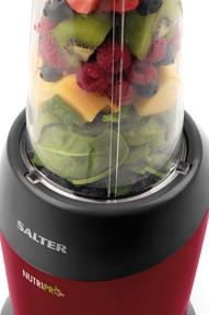 Salter EK2002V2 Nutri Pro Super Charged Multi-Purpose Nutrient Extractor Blender, 1 Litre, 1200 W, Red [Energy Class a] Thumbnail 3