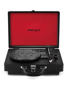 Intempo EE1551 Black Retro Bluetooth Audio Turntable Thumbnail 2