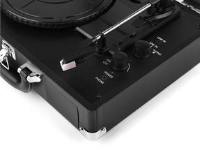 Intempo EE1551 Black Retro Bluetooth Audio Turntable Thumbnail 3