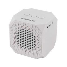 Intempo EE1288 Cube Portable Bluetooth Speaker, White
