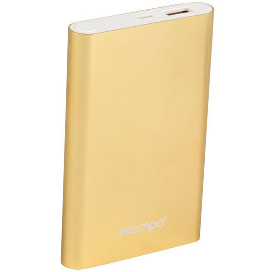 Intempo 8000MaH Aluminium Power Bank Charger