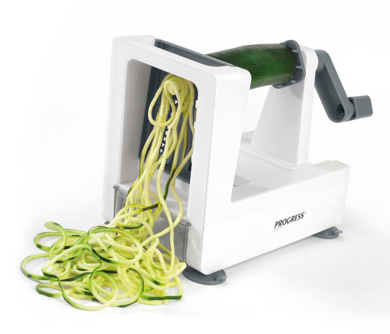 Progress BW05563G Be Balanced 3 Blade Grey Fruit and Vegetable Spiralizer