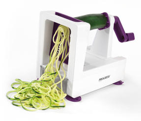 Progress Be Balanced 3 Blade Purple Fruit and Vegetable Spiralizer