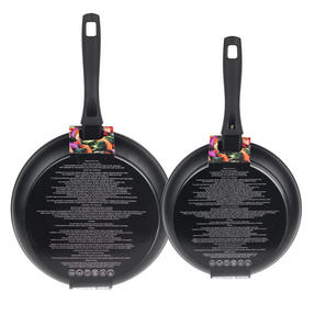 Russell Hobbs Stone Collection Set of 2 Frying Pans, 24/28cm, Grey Thumbnail 5