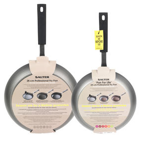 Salter Pan for Life Set of 2 Frying Pans, 24/28cm Thumbnail 5