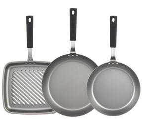 Salter Pan for Life 24/28cm Frying Pans and 26cm Griddle Pan Set Thumbnail 2