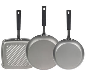 Salter Pan for Life 24/28cm Frying Pans and 26cm Griddle Pan Set Thumbnail 3