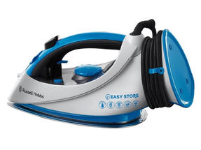 Russell Hobbs 18616 Easy Store Wrap and Clip Iron, 2400 W, White and Blue