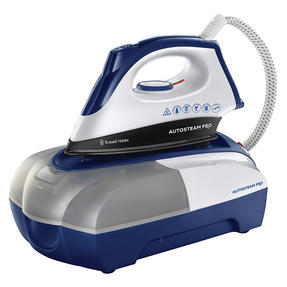 Russell Hobbs 22190 Autosteam Pro Iron, 2400 W, White and Blue [Energy Class A] Thumbnail 1