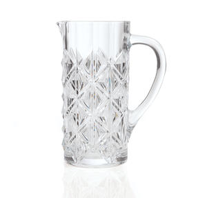 RCR 25937020006 Enigma Luxion Crystal Glass Water Juice and Cocktail Jug, 1.2 L Thumbnail 2