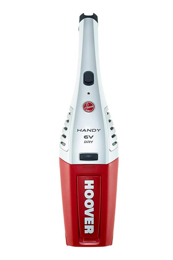 Hoover Handy SJ60DA6 Cordless Handheld Vacuum Cleaner, 6 V - Red