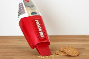 Hoover Handy SJ60DA6 Cordless Handheld Vacuum Cleaner, 6 V - Red Thumbnail 4