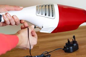 Hoover Handy SJ60DA6 Cordless Handheld Vacuum Cleaner, 6 V - Red Thumbnail 6