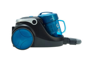 Hoover SP71BL04001 Blaze Bagless Cylinder Vacuum Cleaner, 1.7 litre, 700 W - Black and Blue [Energy Class A] Thumbnail 1