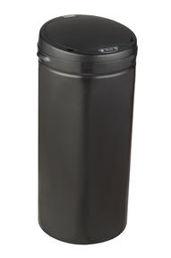 Russell Hobbs BW04180 40 Litre Round Hands Free Motion Sensor Dustbin/Kitchen Bin, Black Thumbnail 1