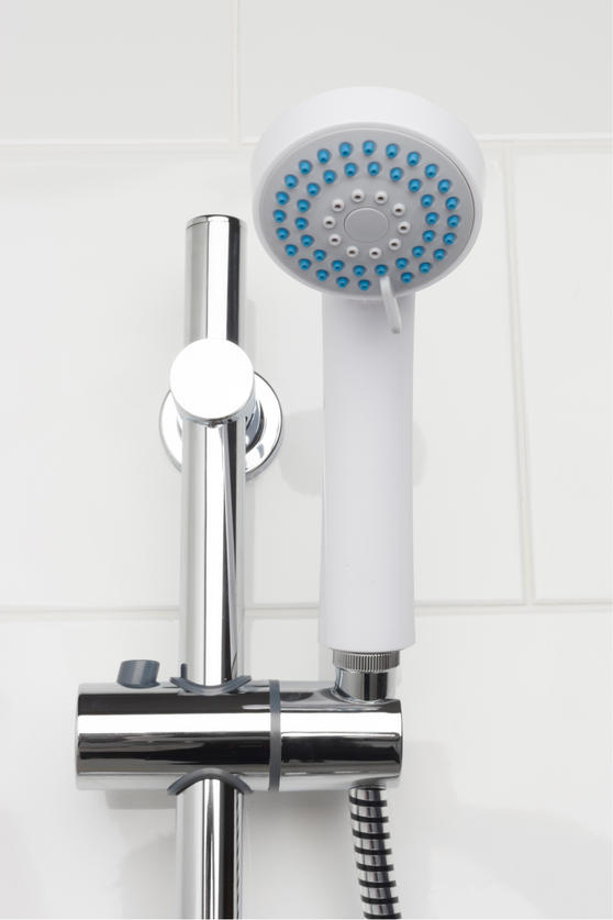Beldray 3 Function Replacement Shower Head, White Thumbnail 2