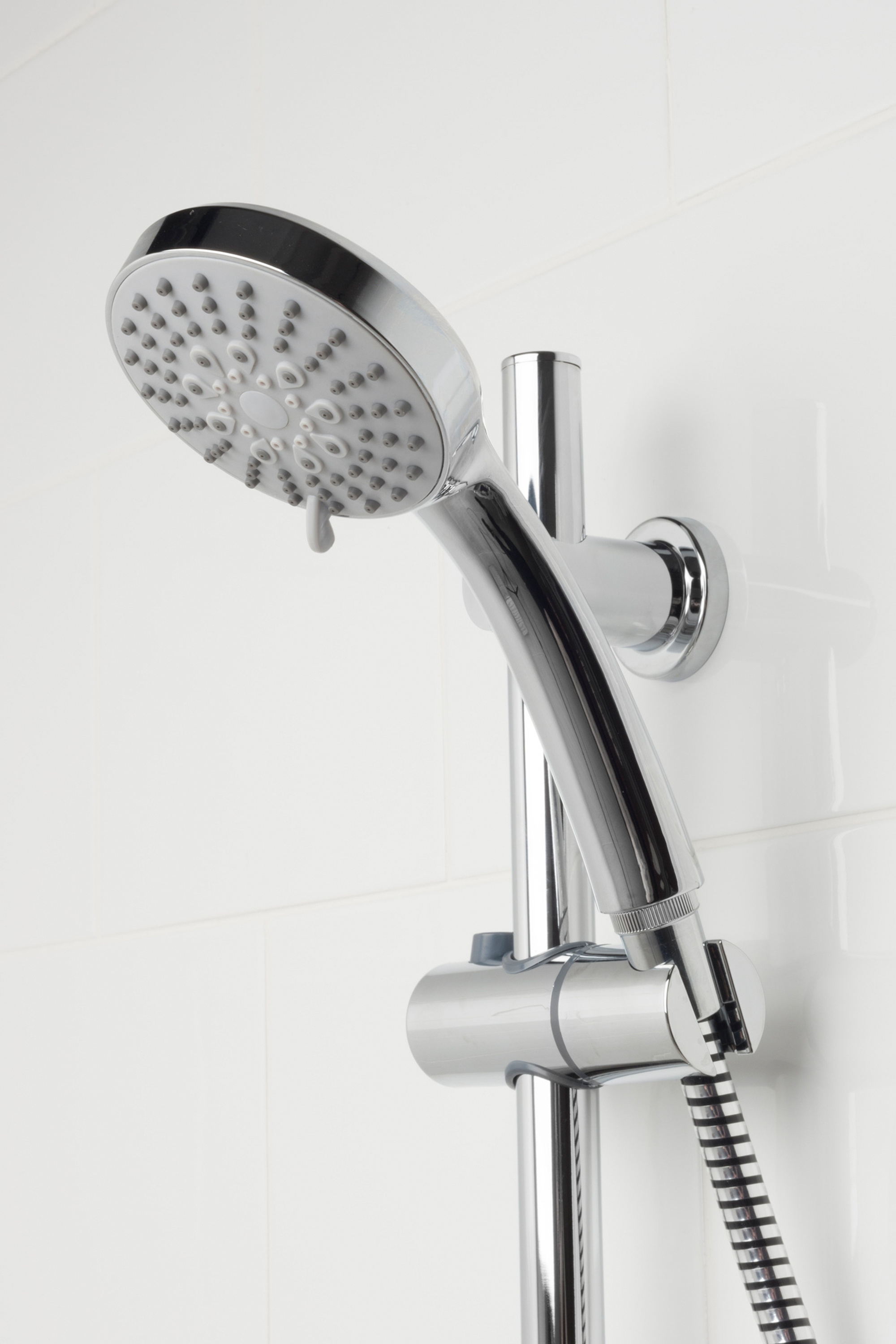 Beldray 5 Function Replacement Shower Head, Chrome | Beldray