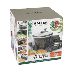 Salter BW05517 All In One Food Preparation Set, Green Thumbnail 7