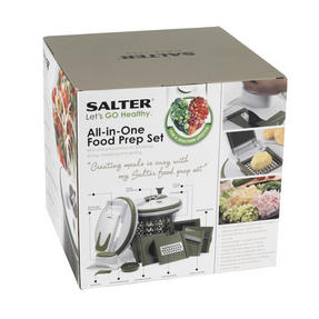 Salter All In One Food Preparation Set, Green Thumbnail 8
