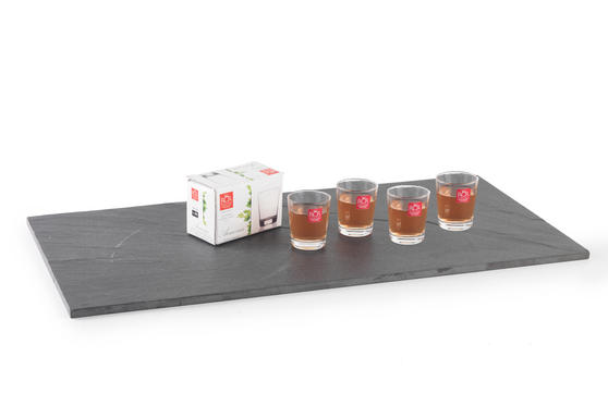 RCR Armonia Set Of 4 Shot Glasses Luxion Glass 6cl 252350