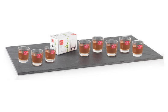 RCR Armonia Set Of 8 Shot Glasses Luxion Glass 6cl