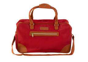 Constellation Pebble Textured Esquire Carry Holdall, Red Thumbnail 1
