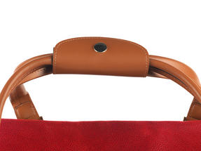 Constellation Pebble Textured Esquire Carry Holdall, Red Thumbnail 4