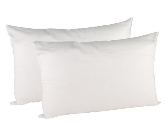 Beldray Esssential Polycotton Pillows, Twin Pack, White Thumbnail 2