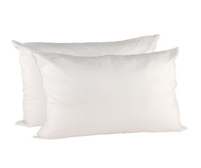 Beldray MFBEL07297 Deep Fill Pillows, Twin Pack, White Thumbnail 2