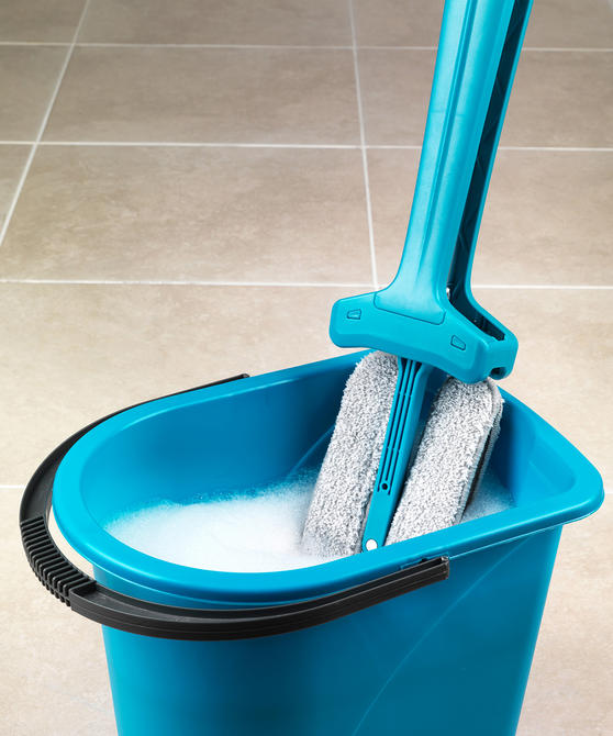 Beldray Double Sided Squeegee Mop, Turquoise Thumbnail 5