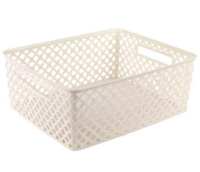 Beldray LA038432 Medium Cream Deco Basket