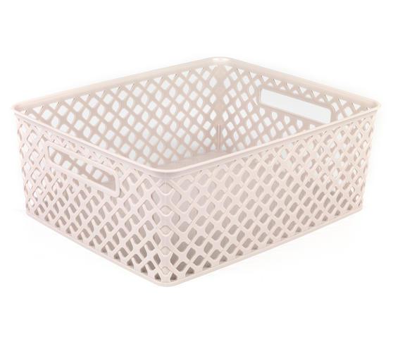 Beldray Medium Grey Deco Basket