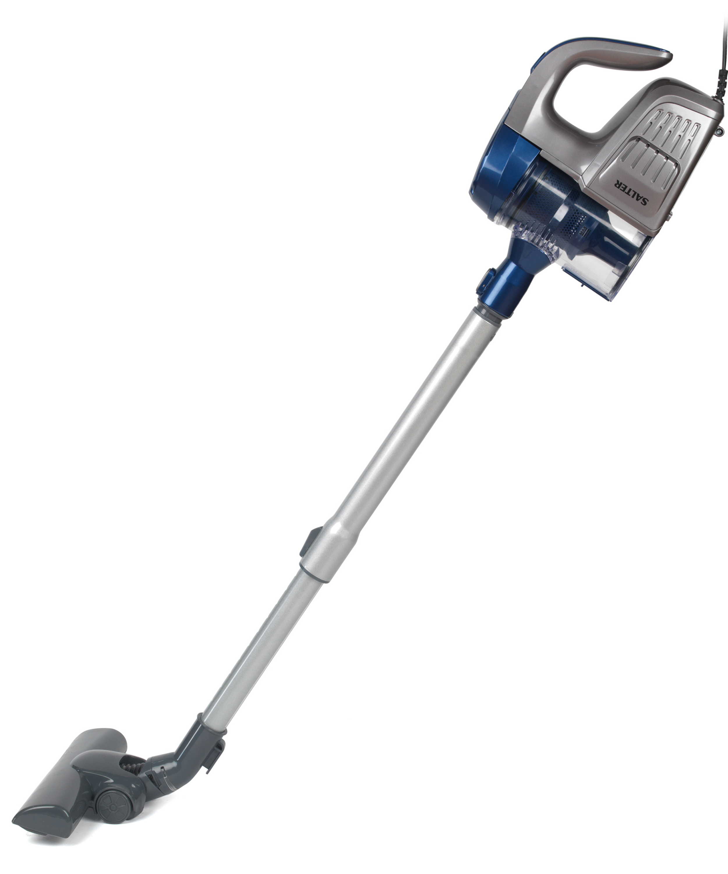 Salter Sal0001 2 In 1 Silver Blue Cyclonic Multi Vac