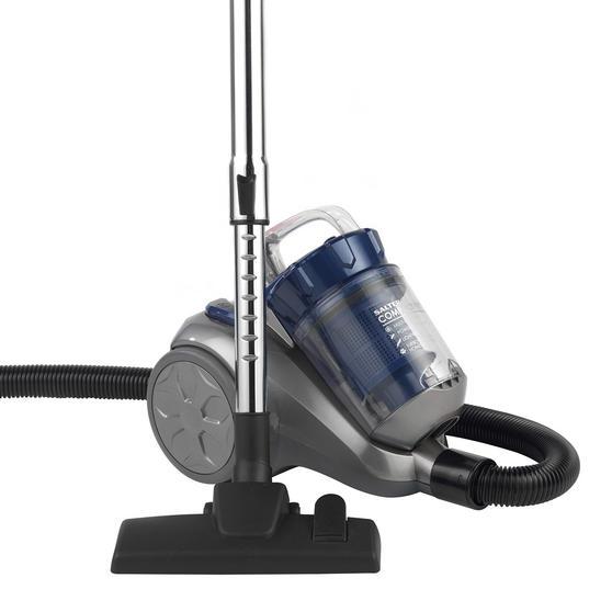 Salter SAL0004 Compact Pet+ Vac Cylinder Vaccum Cleaner, 1 Litre, 700 W, Blue