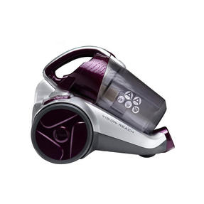 Hoover BF70_VS01002 Vision Reach Bagless Pets Cylinder Vacuum Cleaner, 700 W, Silver/Purple Thumbnail 1